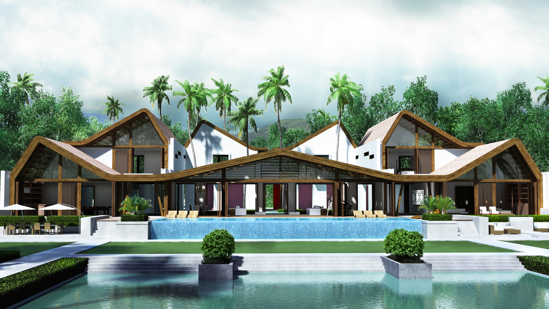 MAP design bungalow-architecture-architect-kiran-mathema-front-waterside