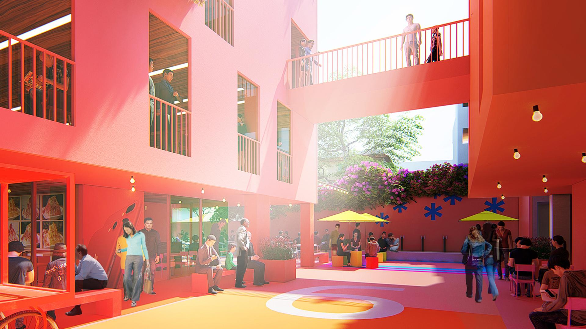 MAP Design_Architecture_Retail_Mixed_Use_Architect_Kiran_Mathema_Shopping_arcade_Courtyard