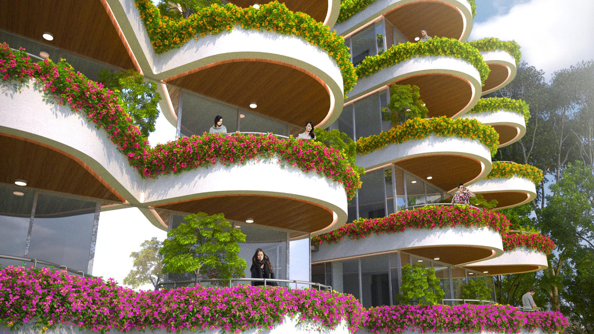 MAP_Design_Residential_Apartment_Architect_Kiran_Mathema_Green_Architecture_Balcony